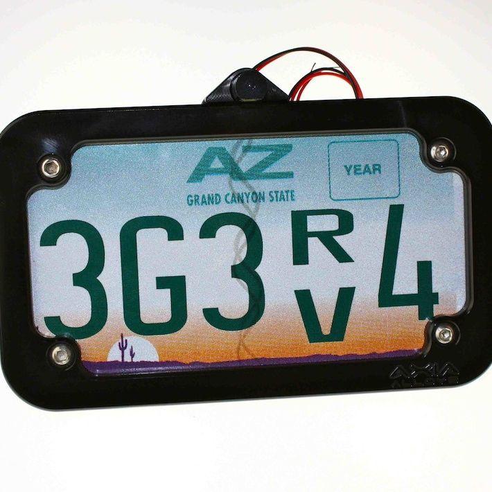 Tube Mounted LED License Plate Frame