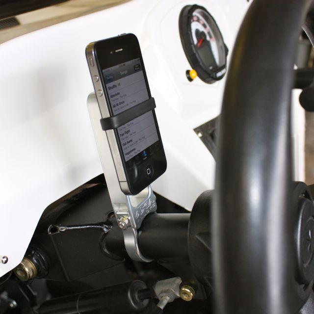 Steering Column GPS Mount