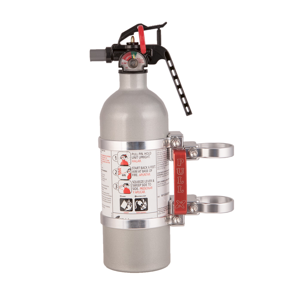 Poison Spyder Roll Bar Fire Extinguisher Holder | Quadratec |Fire Extinguisher Roll Bar Mount