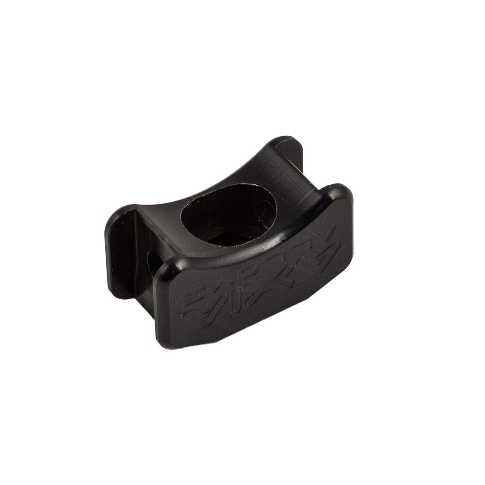 Black Axia Alloys Universal Mount With 6mm Bolt