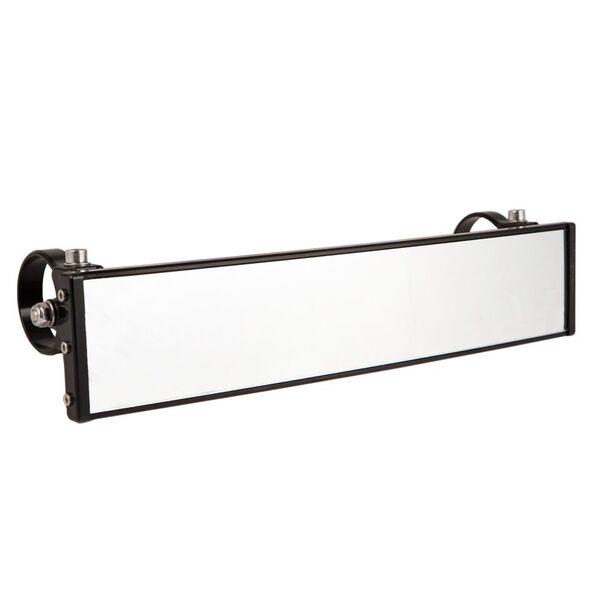 "9/"" Billet Aluminum Panoramic Rear View Mirror Black Axia Alloys MOD9PRVM-BK"